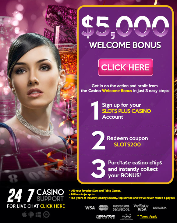 slots games welcome bonus